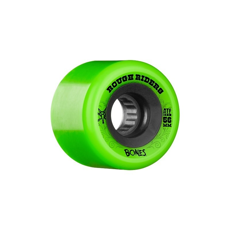 Bones Wheels (Jue de 4) ATF RoughRiders 56mm Green