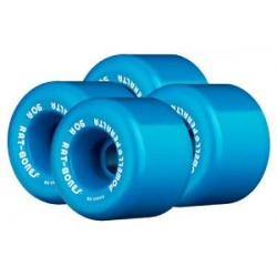 Powell Peralta Wheels Rat Bones 60mm (Jeu de 4) Bleu