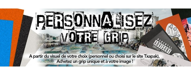 Grip de Skate Personnalisable - Txapak - Fabrication Française